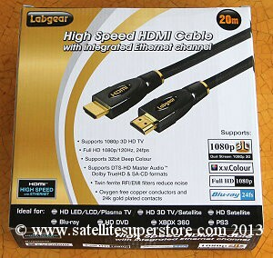 20m HDMI to HDMI lead