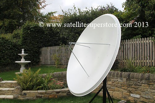 Primesat 2.3m motorised Dish