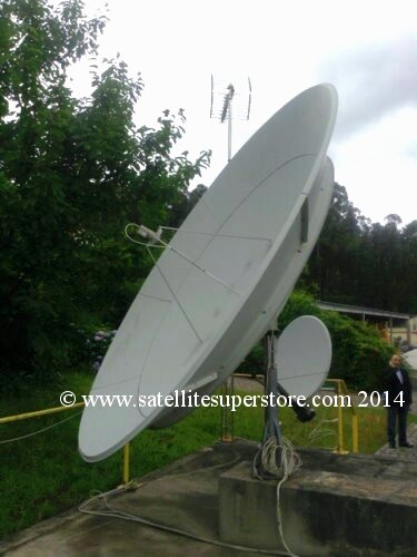 3.1m extensions for 2.3m dish