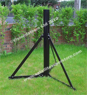 Satellite Dish Wall Mounts Ground Stands Low Cost And