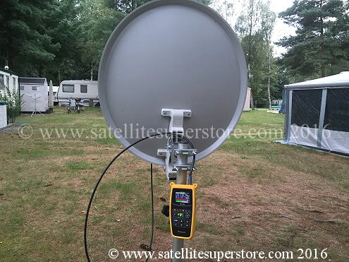 Primesat FS700 HD professional satellite meter.