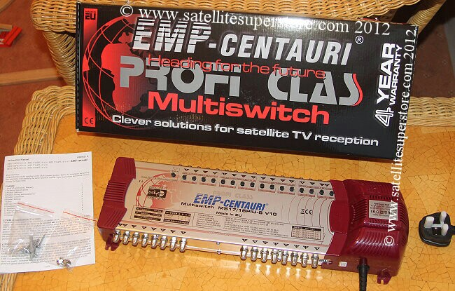 13 input 16 output powered multiswitch