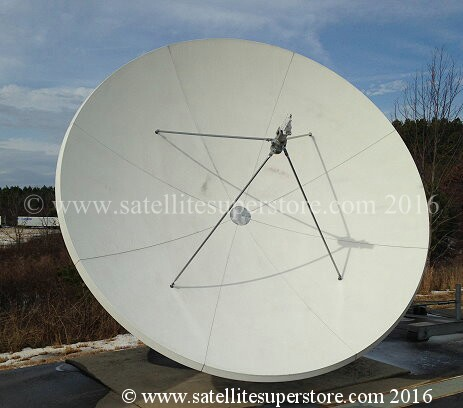 Primesat 3.7mm prime focus fixed dish motor