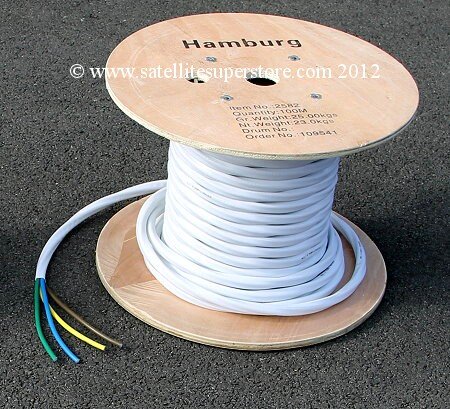 100 reel of 4 LNB cable.