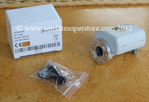 0.3dB C120 flange single LNB