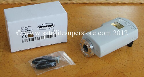 Invacom C120 flange single LNB
