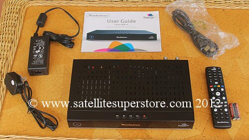 Manhattan HD-S Freesat receiver