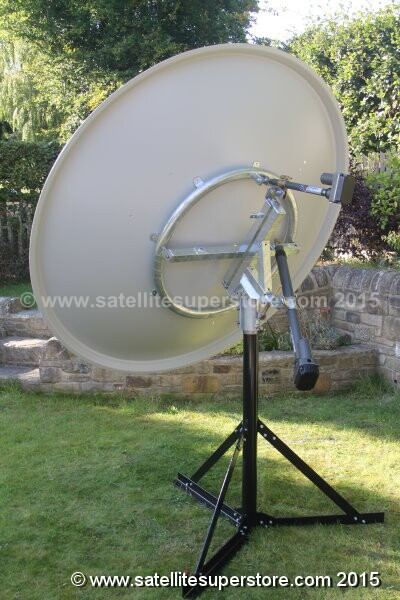 Primesat inclined orbit polar mount with actuators