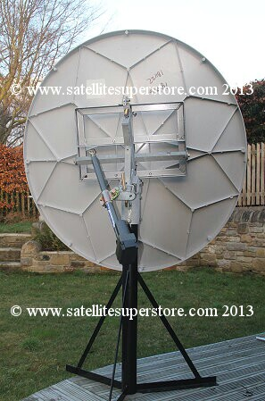 Motorised Satellite Dishes Raven 1 2m Motorised Satellite