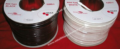 Triax RG 6 cable.