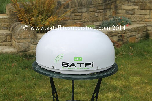 Satfi self-seeking dome.