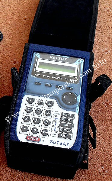 Satcatcher Setsat satellite meter