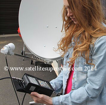 Primesat SF-3000 professional satellite meter.
