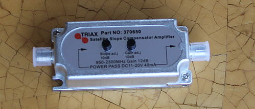 Triax IFE30 Amplifier.