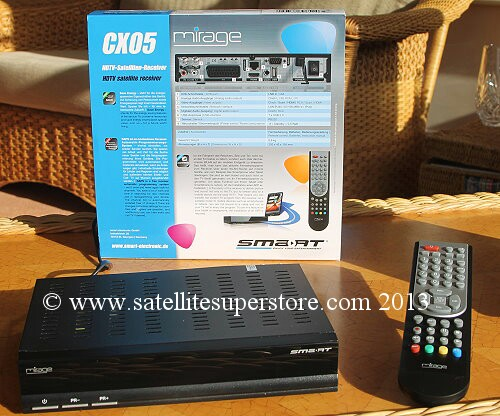 Smart Electronic CX05 satellite and IPTV receiver
