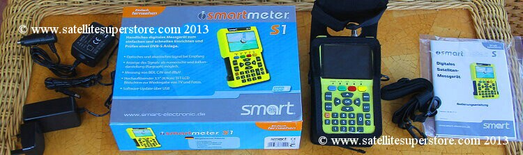Smartmeter S1 NIT satellite meter.
