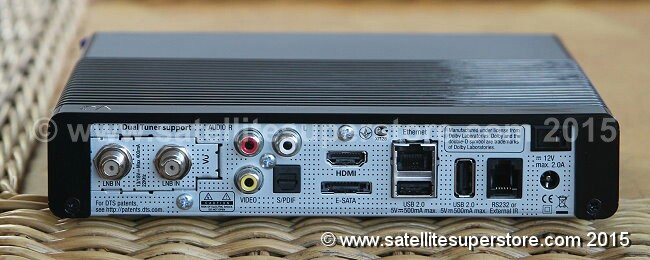 Vu+ Solo SE HD version 2 receiver Front