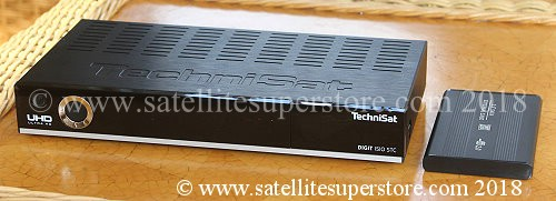 Technisat Digit Isio STC 4K UHD PVR receiver