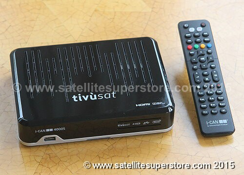 Tivosat HD receivers