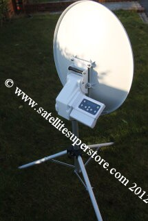 Travel Vision Automatic Dish with Tripod