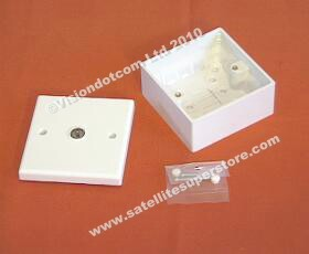 UHF Outlet box