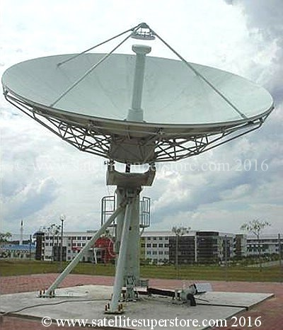 Primesat 7.3mm prime focus motorised dish