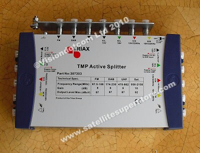 7 in and 10 out Active splitter