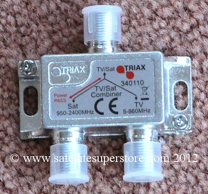 Triax Aerial and Satellite Splitter