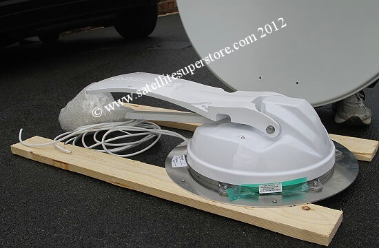 Maxview crank-up roof mounting dish kit