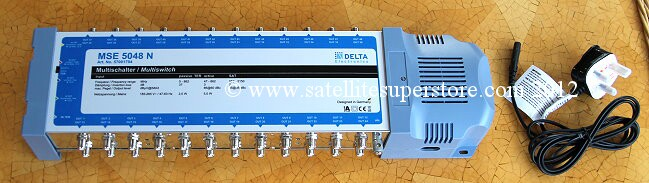 DELTA 5 in 48 out Multiswitch. Delta MSE5048N