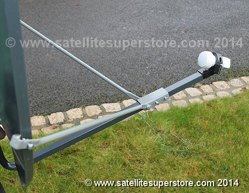 Dish side stabiliser bars