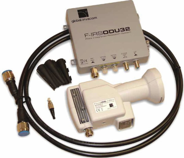 Global Invacom ODU optical fibre LNB