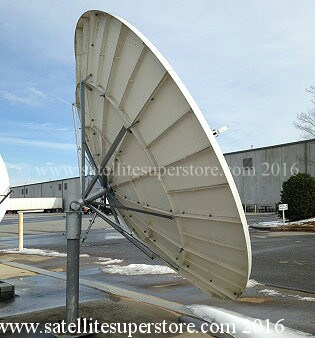 Primesat 3.7mm prime focus fixed dish