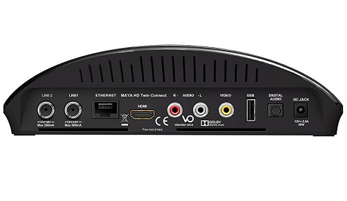 FranSat HD twin tuner satellite receiver for 19 East with card