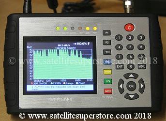 Satellite finder meters UK  Primesat PR8000, SF700, STF9000