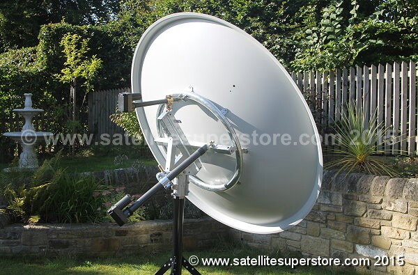 Satellite Dishes With Inclined Orbit Polar Mount Motors 1