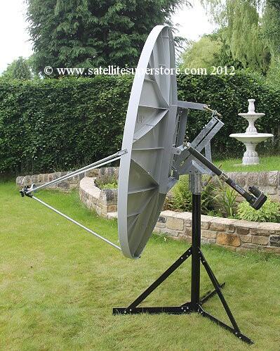 Motorised Satellite Dishes 70cm 3 0m Motorised
