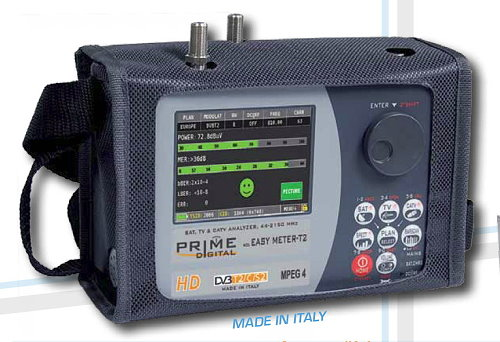 Professional Satellite and Terrestrial Combo Meters