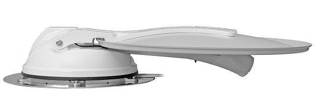 Automatic roof dish kits