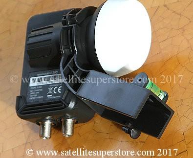 Gibertini LNB support adapté pour sab triax LNB-bras 1 positions 40mm plastique