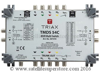 RTriax Sky Q multiswitches