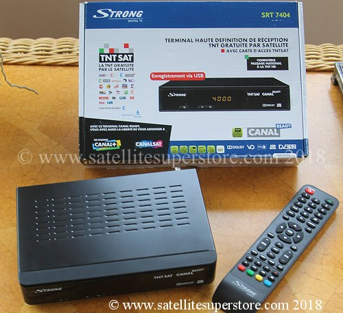 TNTSAT HD satellite receiver for 19 East with card