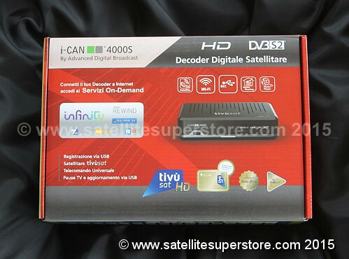 TNTSat HD satellite receiver for 5 West