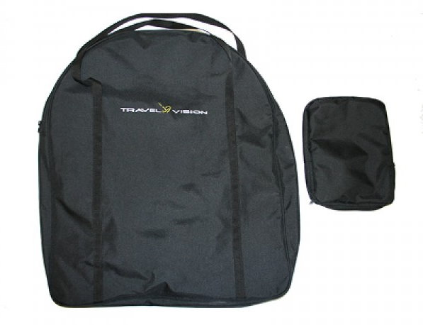 Travel Vision automatic flat plate antenna carry bag