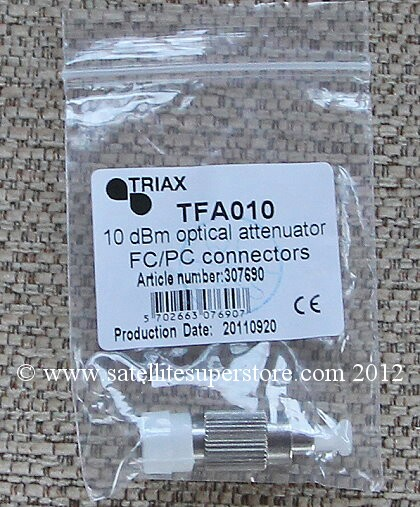 5m Global Optical fibre attenuator