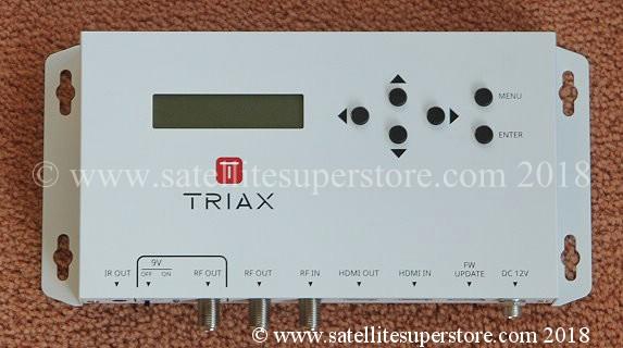 Dish Side Stabiliser Bars HD Modulator
