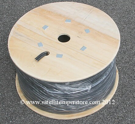 125m reel of twin LNB cable.